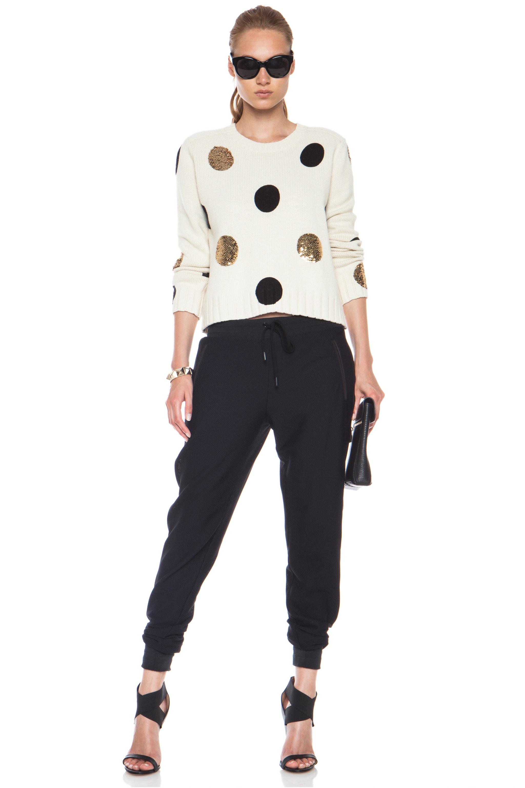 Image 5 of Sass & Bide Between Ordinary Cotton-Blend Sweater in Cream