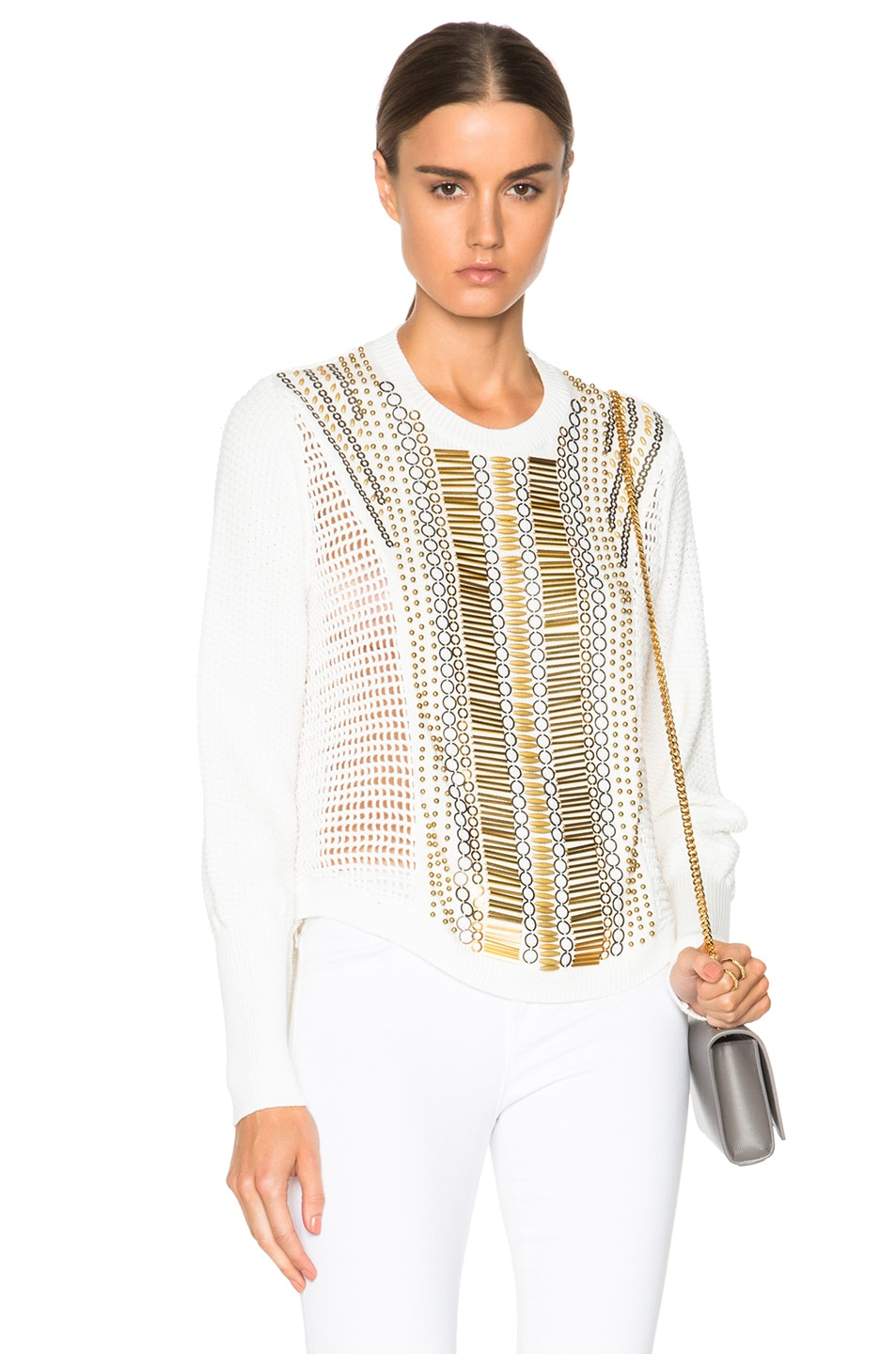 Image 1 of Sass & Bide Army of Alpinists Sweater in White