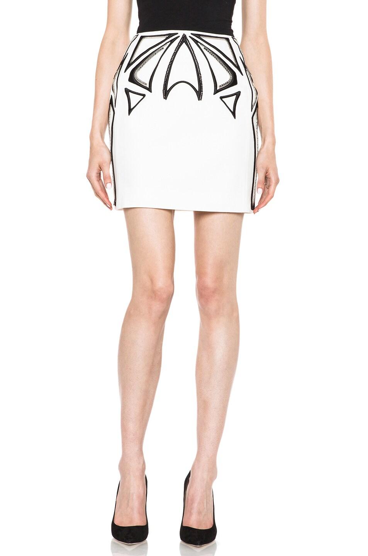Image 1 of Sass & Bide Making Sense Cotton-Blend Skirt in Ivory