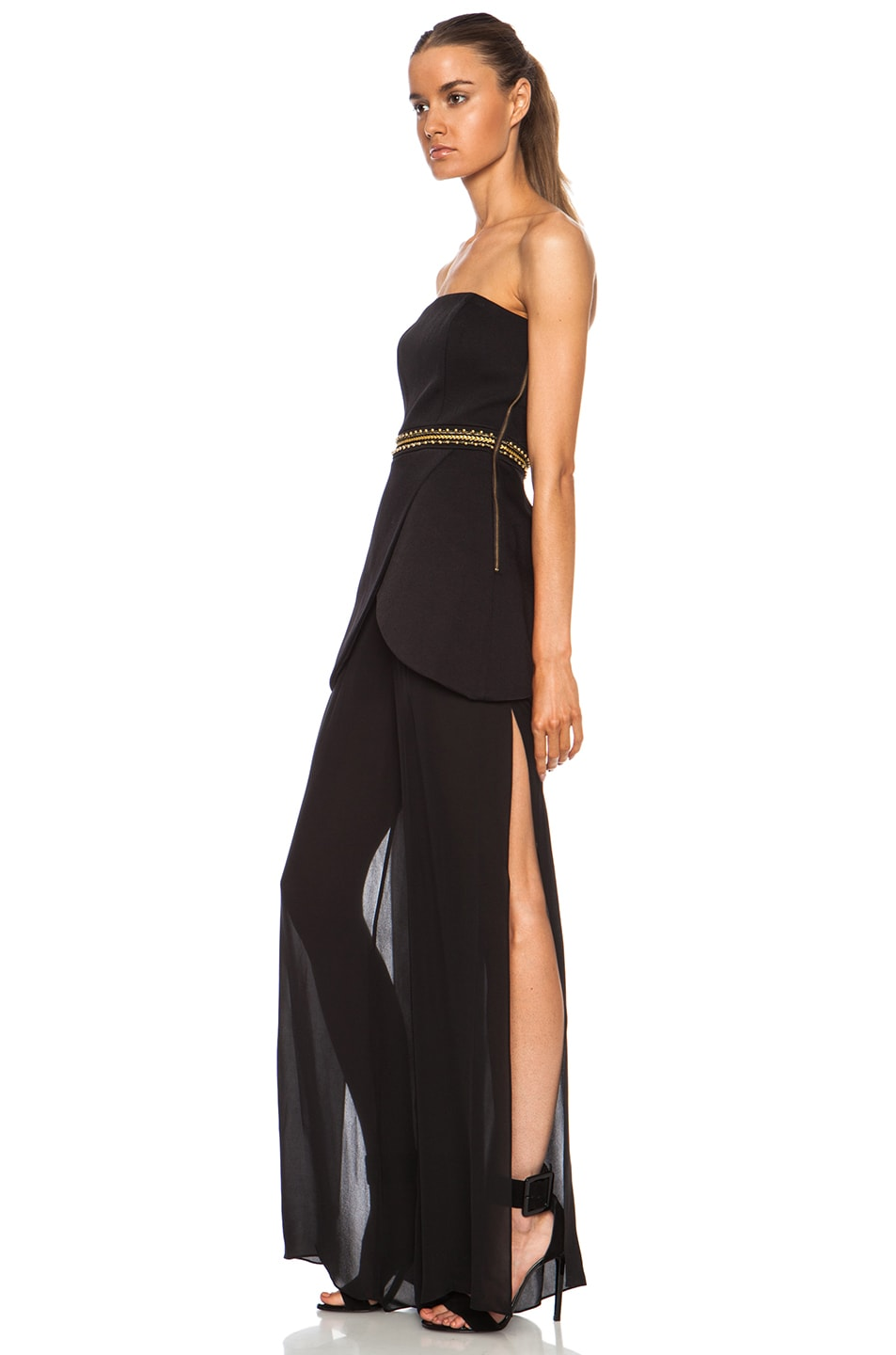 7699a2551a6 Image 2 of Sass   Bide Give A Cheer Nylon-Blend Jumpsuit in Black