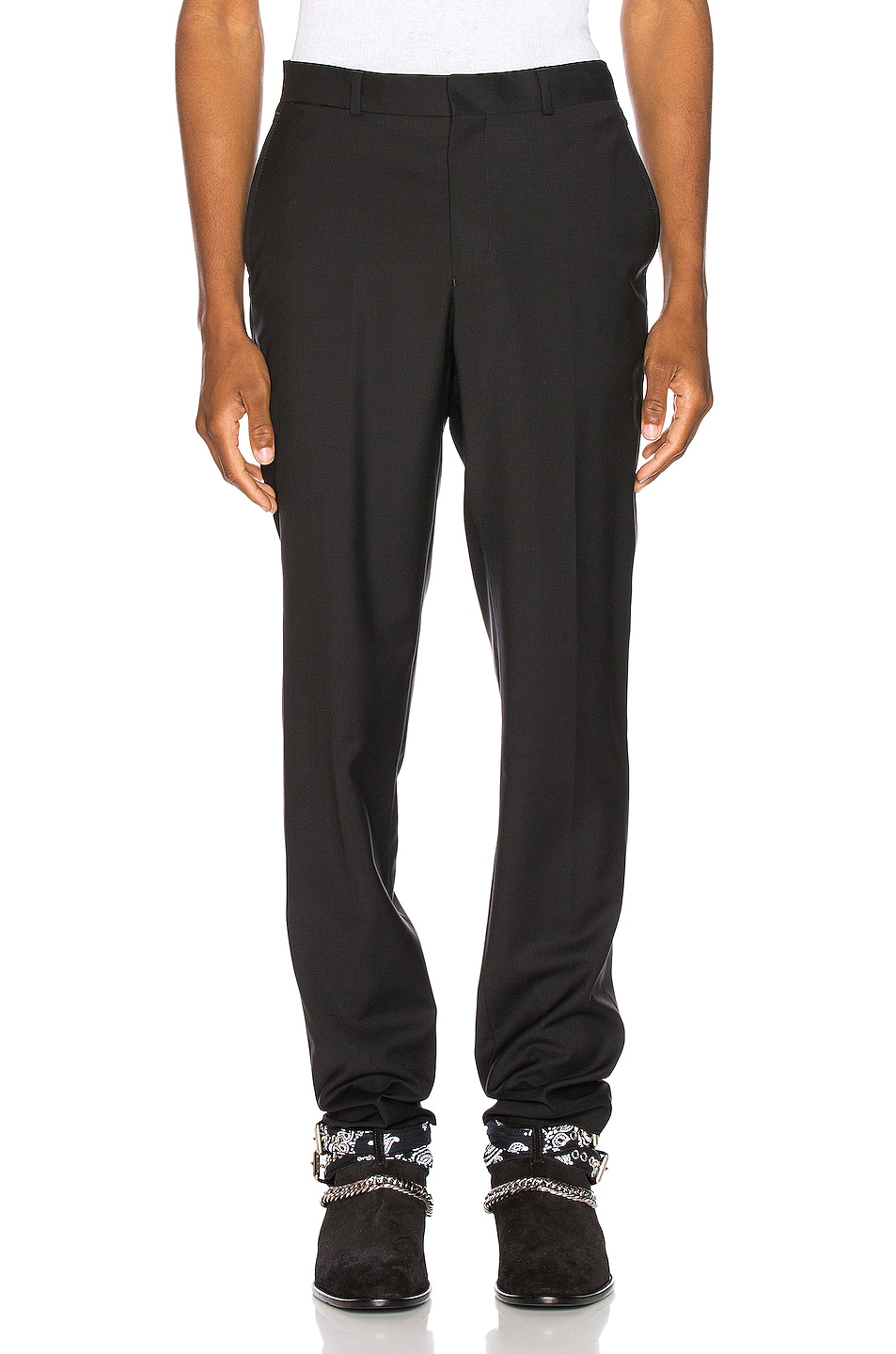 Image 1 of SSS World Corp Suit Pant in Black