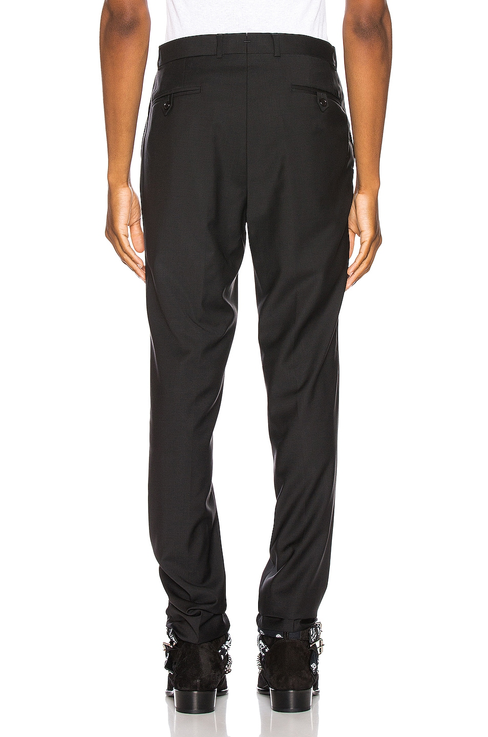 Image 3 of SSS World Corp Suit Pant in Black