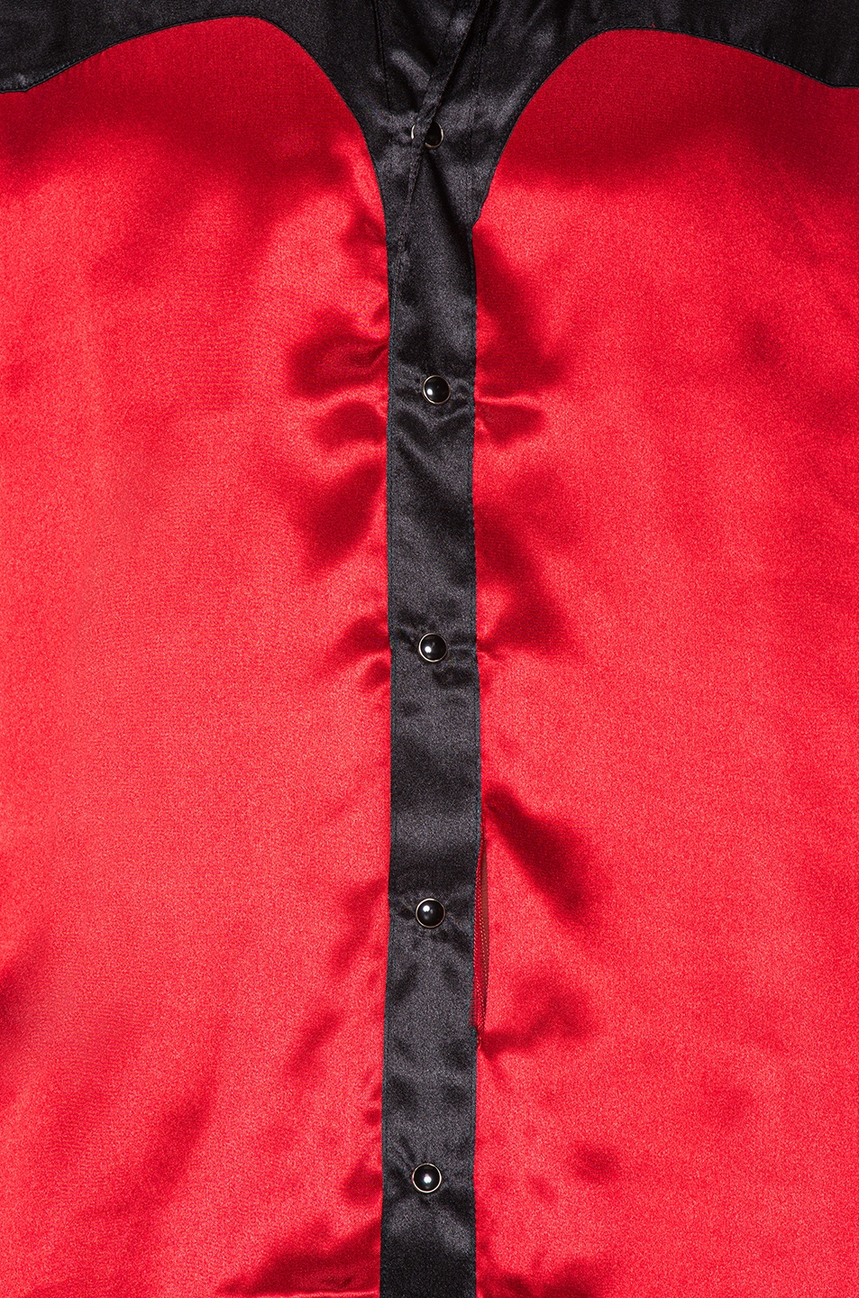 Image 5 of SSS World Corp Western Shirt in Black & Red