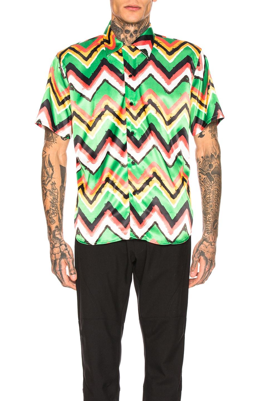 Sss World Corp T-shirts SSS WORLD CORP HAWAIIAN SHIRT IN MULTI.
