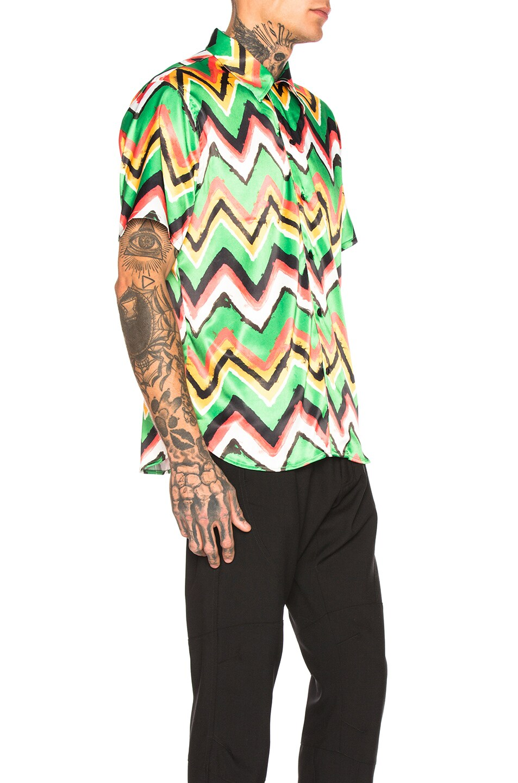 Image 2 of SSS World Corp Hawaiian Shirt in Green