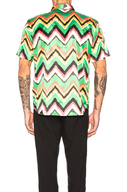 Image 3 of SSS World Corp Hawaiian Shirt in Green