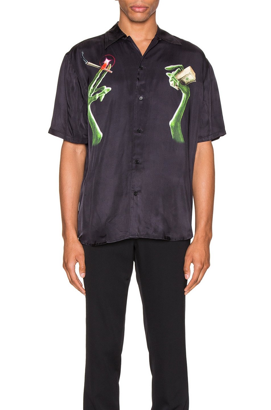 Image 1 of SSS World Corp Extrat Money Shirt in Black