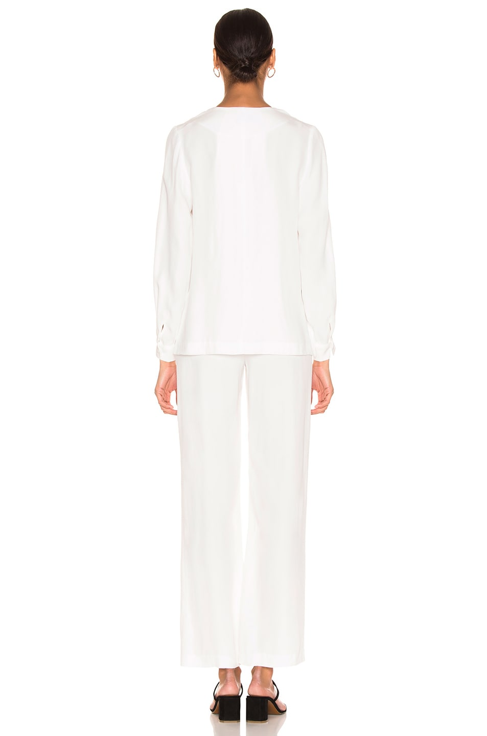 Image 3 of Staud Catch Jumpsuit in Opal