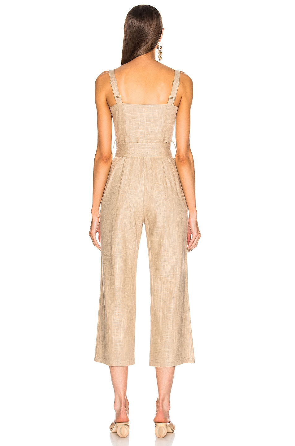 Image 3 of Staud Bay Jumpsuit in Sand