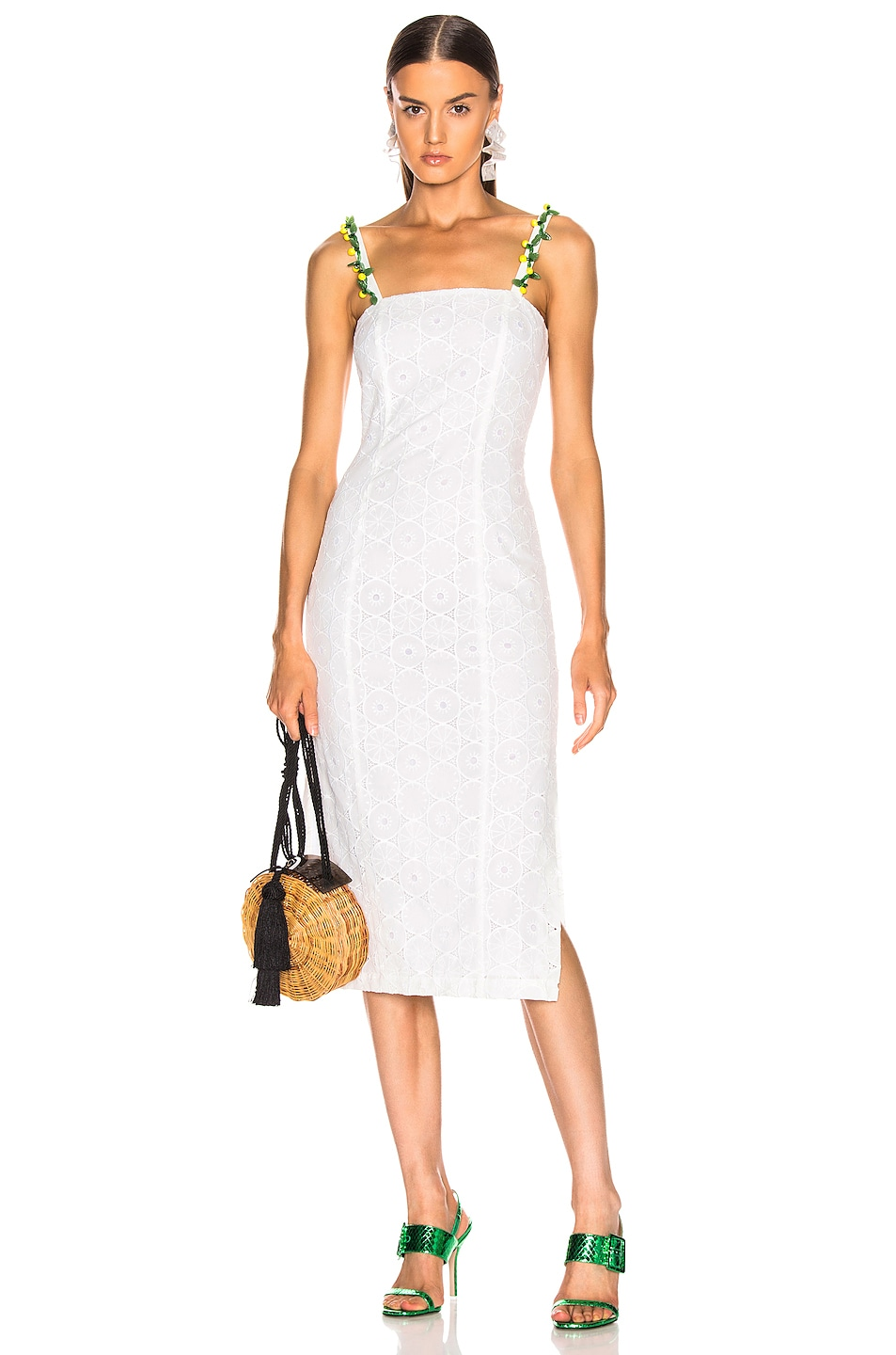 Image 1 of Staud Cocomaya Dress in White