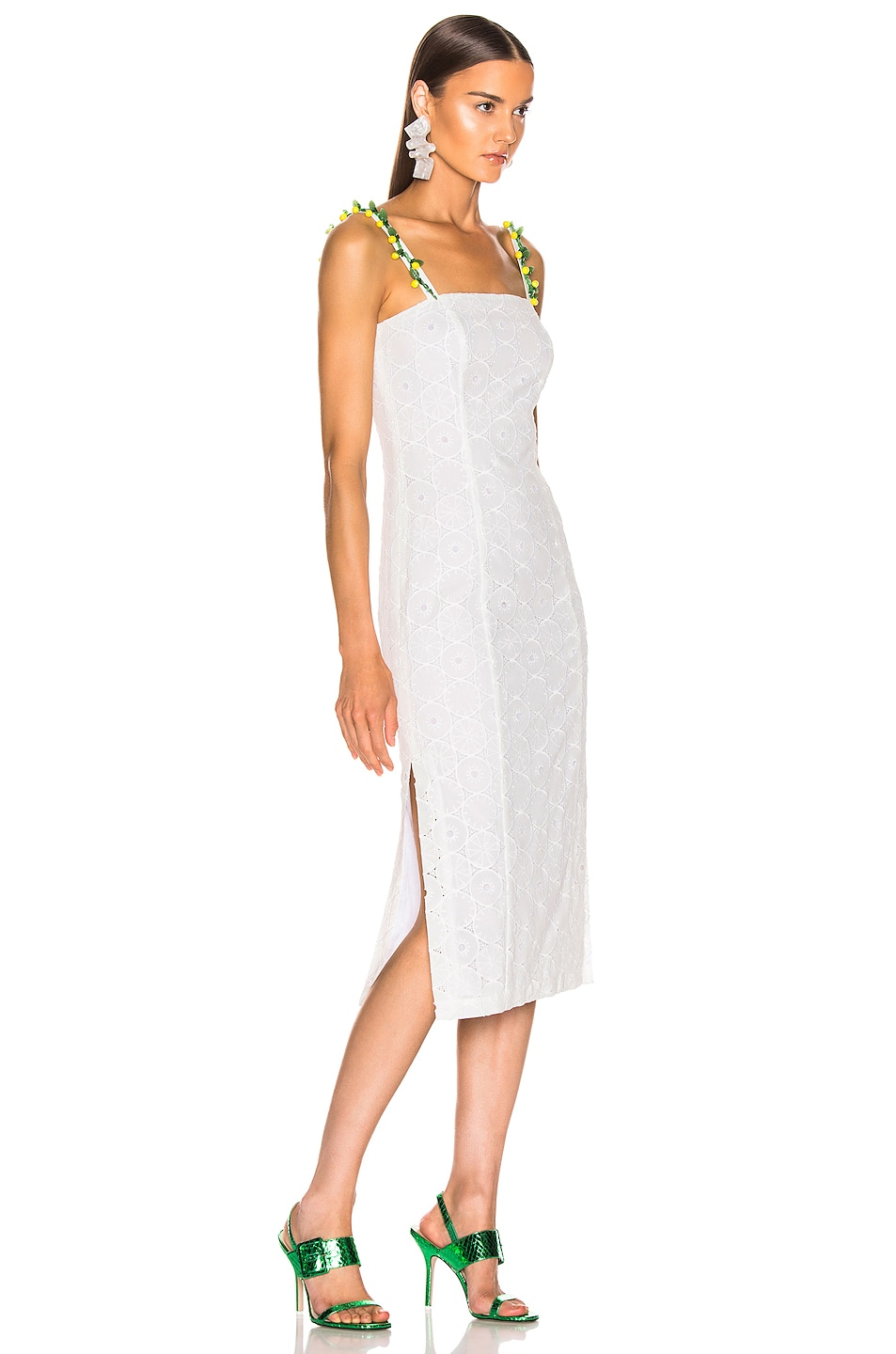 Image 2 of Staud Cocomaya Dress in White