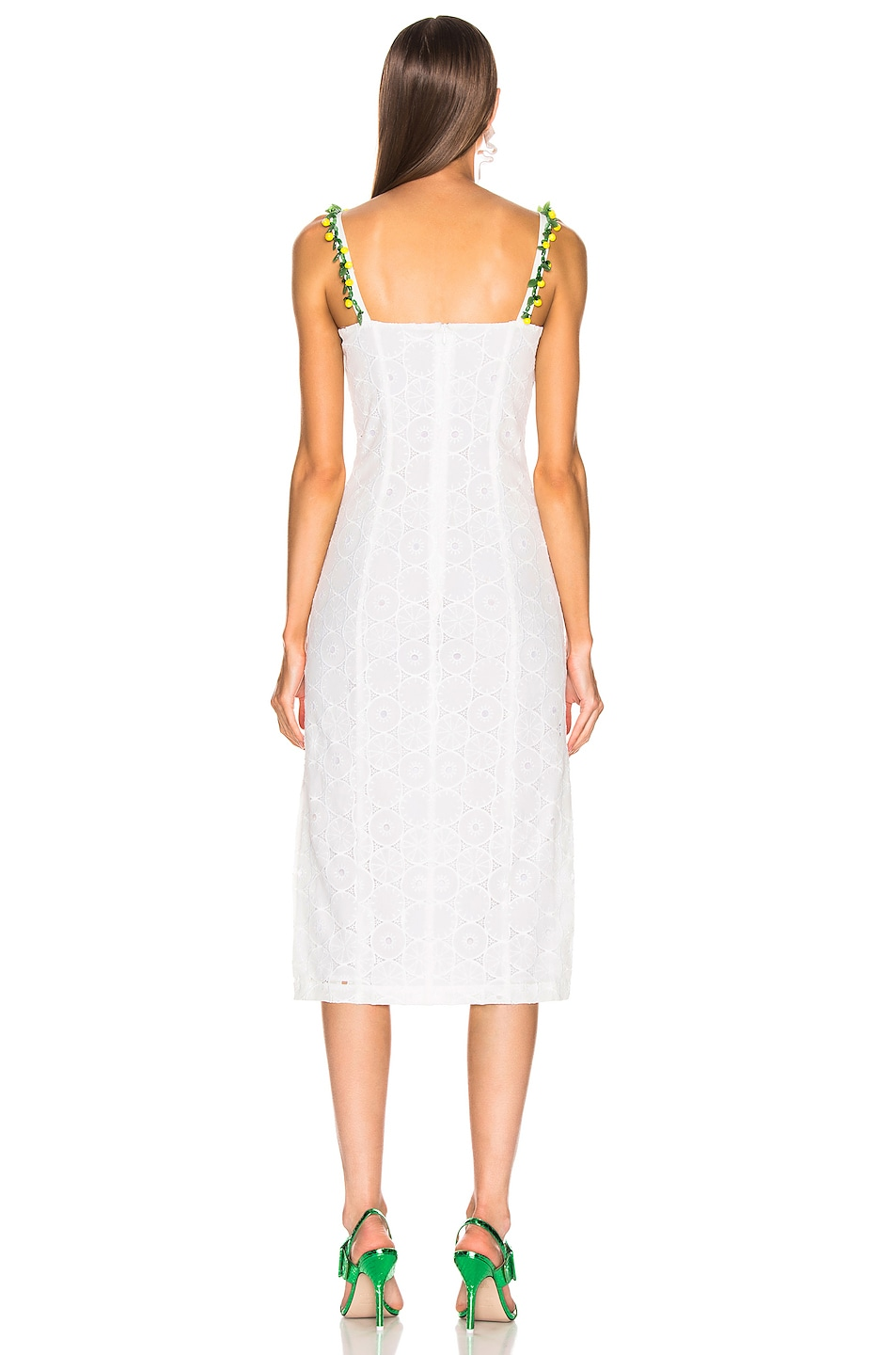 Image 3 of Staud Cocomaya Dress in White