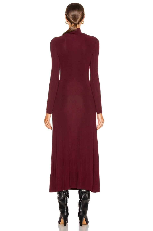 Image 4 of Staud Portobella Dress in Merlot