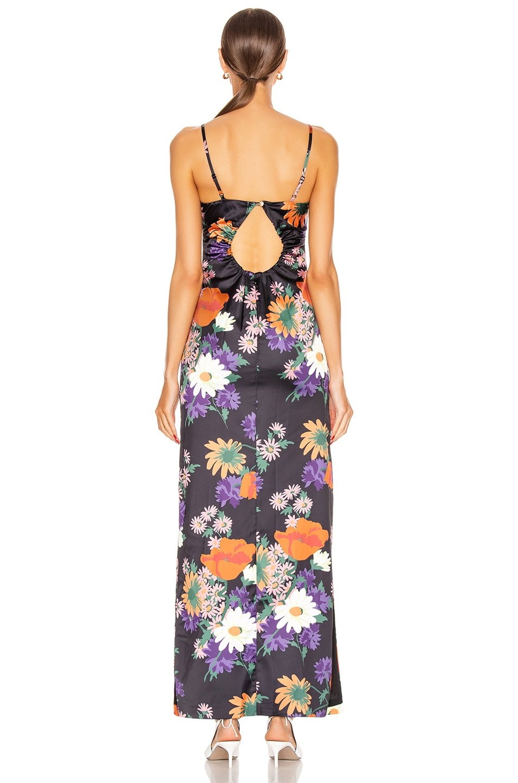 Image 3 of Staud Heidi Dress in Black Floral