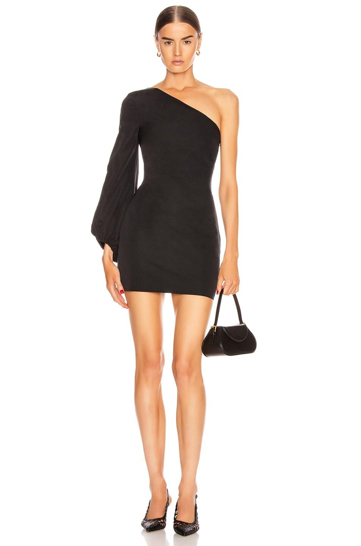 Image 1 of Staud Paula Dress in Black