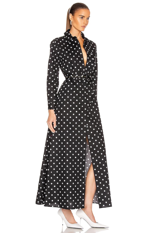 Image 2 of Staud Daisy Dress in Black Dot