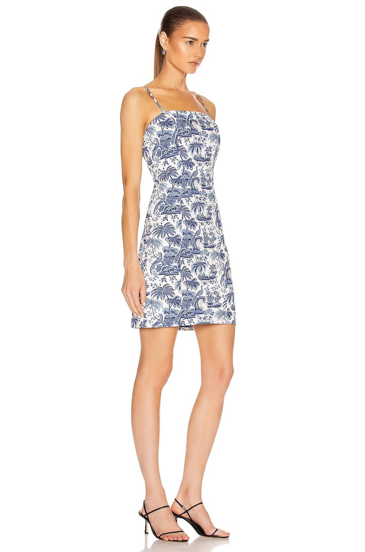 Image 2 of Staud Basset Dress in China Blue