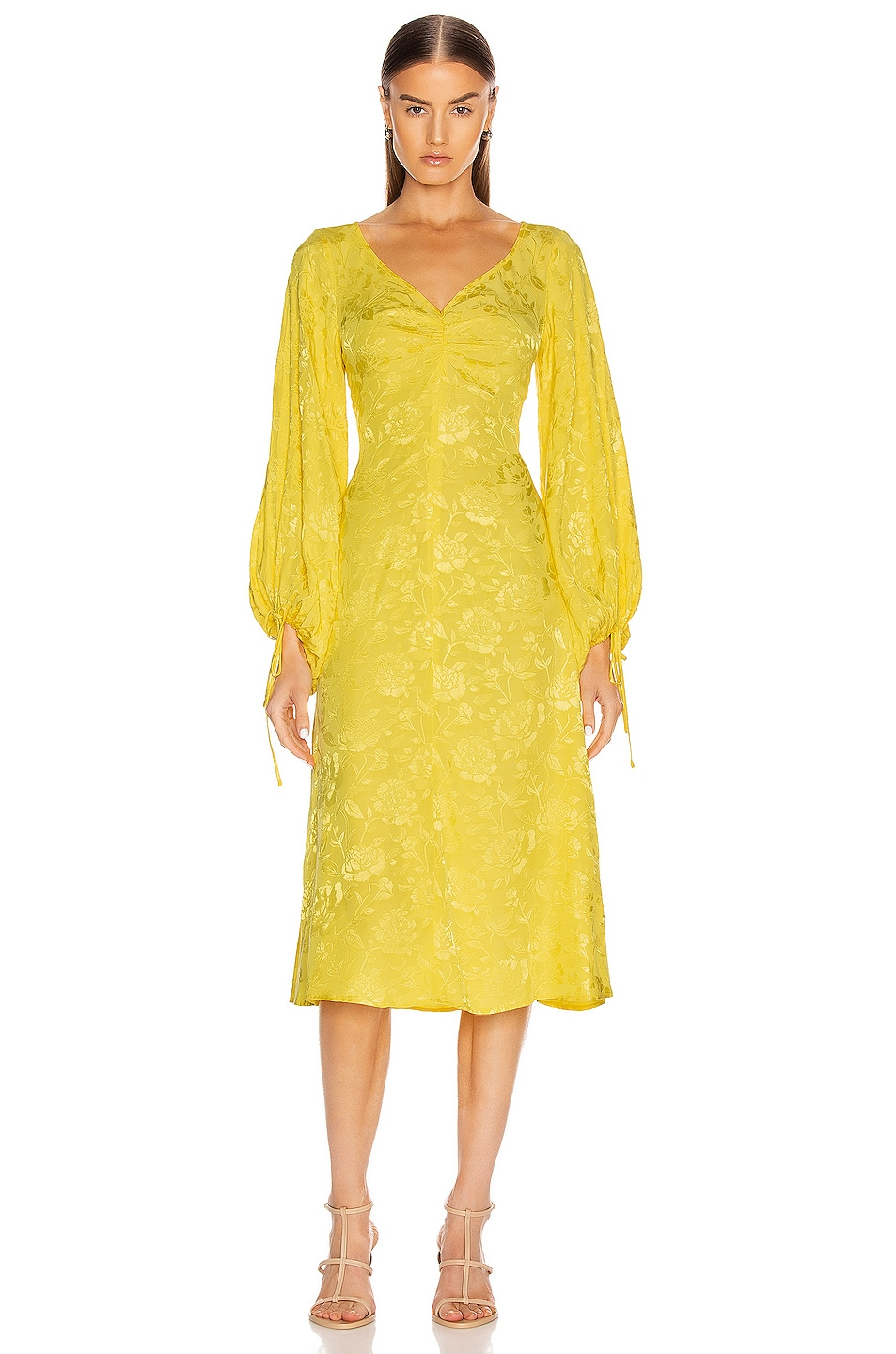 Image 1 of Staud Sofia Dress in Buttercup