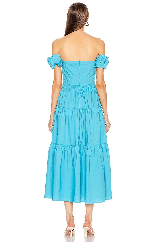 Image 3 of Staud Elio Dress in Bright Blue