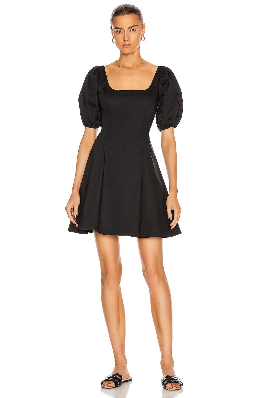 Image 1 of Staud Laelia Dress in Black