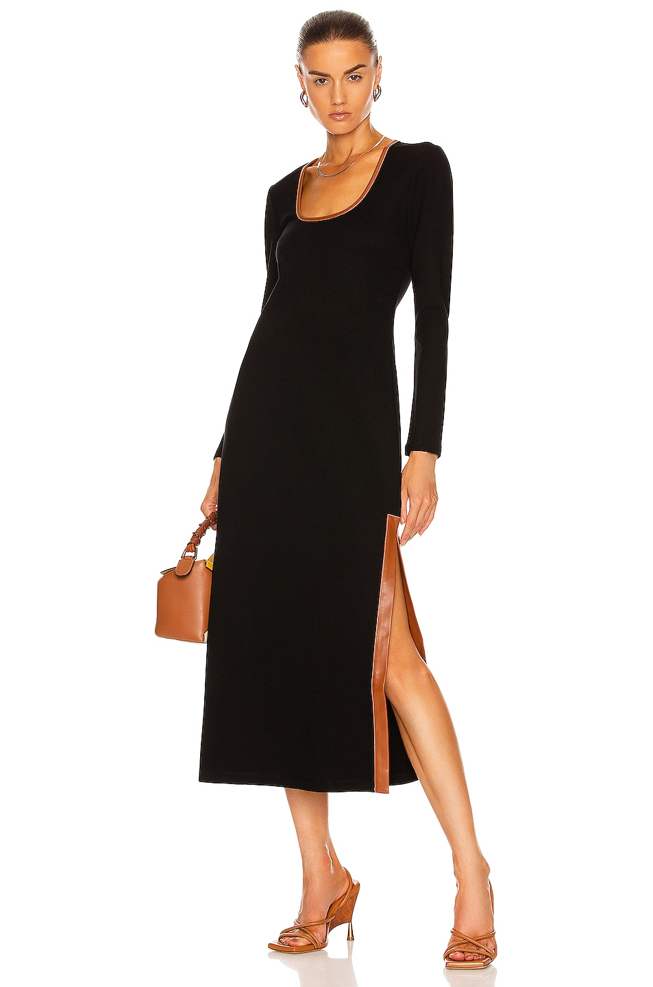 Image 1 of Staud Joint Dress in Black