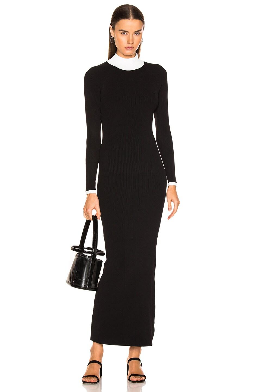 Image 2 of Staud Avenue Dress in Black & Opal