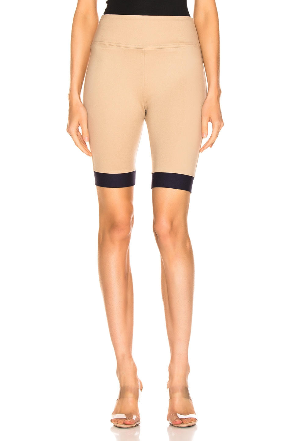 Image 1 of Staud Cruise Short in Sand & Navy