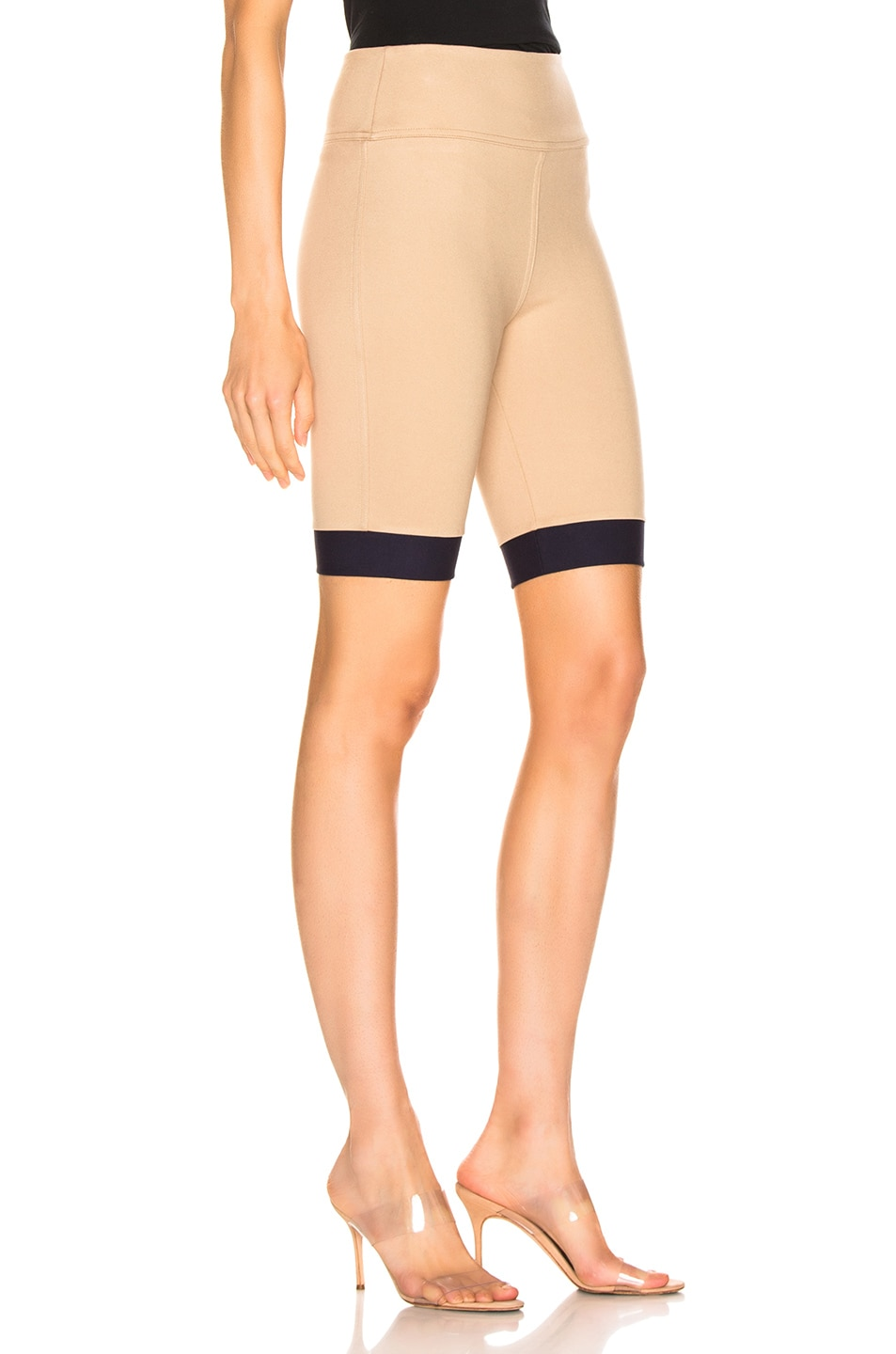 Image 2 of Staud Cruise Short in Sand & Navy
