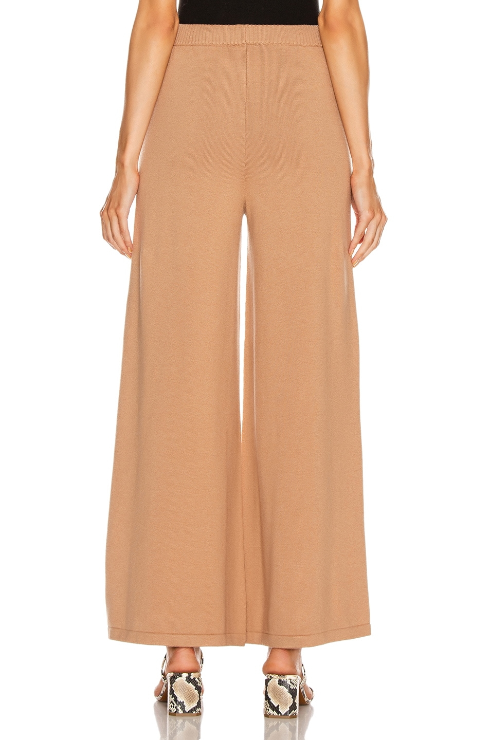 Image 3 of Staud Mitchell Pant in Mocha