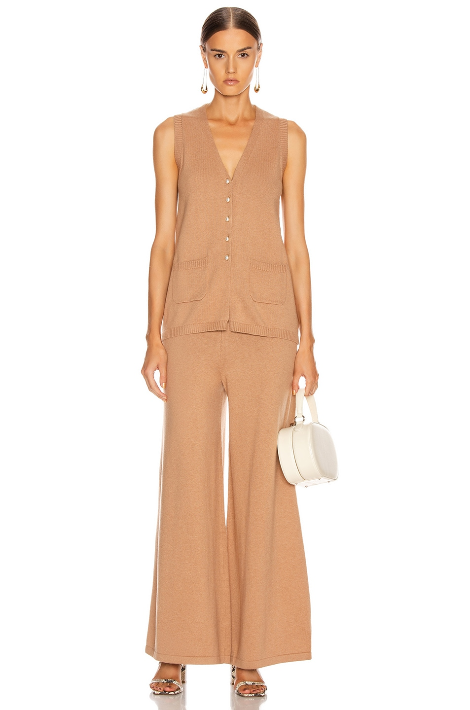 Image 4 of Staud Mitchell Pant in Mocha