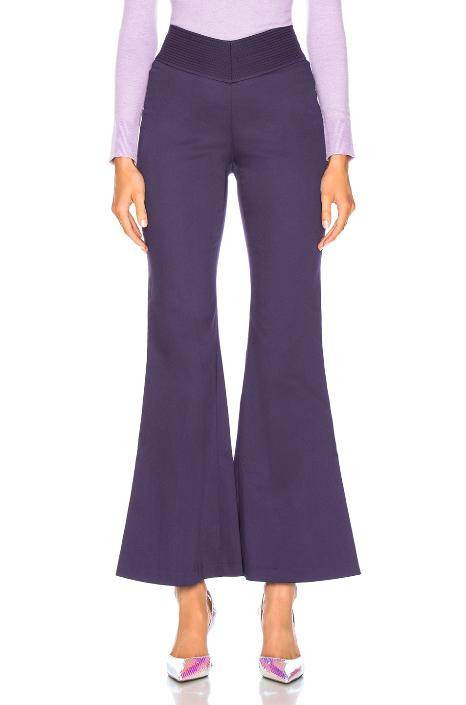 Image 1 of Staud Cher Pant in Amethyst