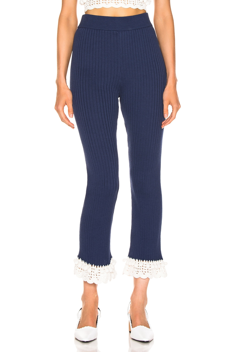 Image 1 of Staud Delon Pant in Navy