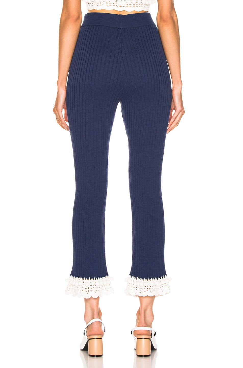 Image 3 of Staud Delon Pant in Navy