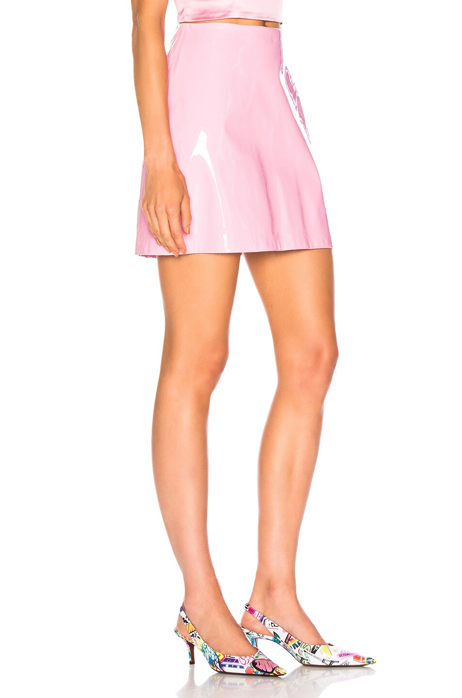 Image 2 of Staud Murray Skirt in Rose Quartz
