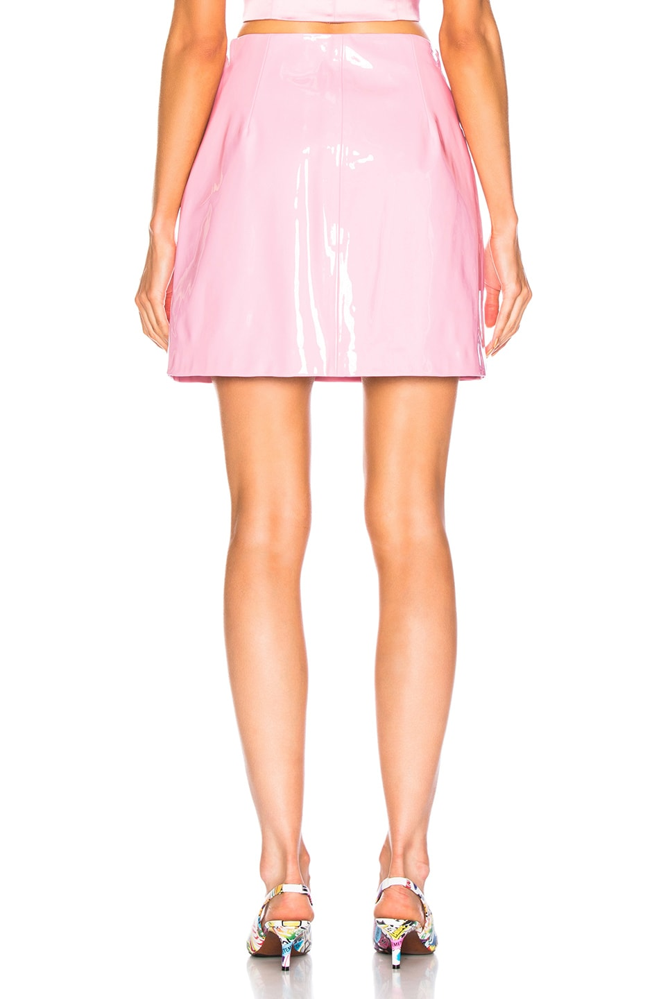 Image 3 of Staud Murray Skirt in Rose Quartz
