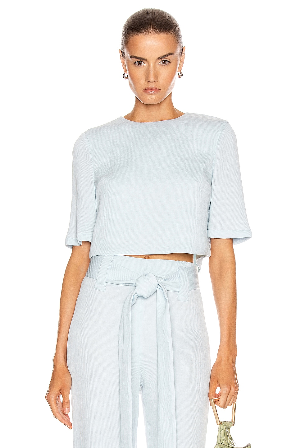 Image 1 of Staud Florence Top in Ice Blue