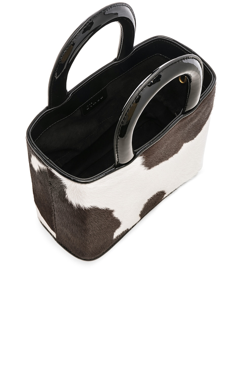 Image 5 of Staud Nic Bag in Cow Print