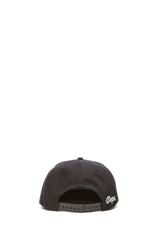 Image 4 of Stampd Studded Hat in Black & Gold