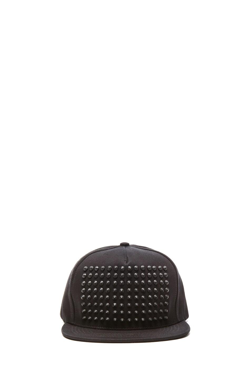 Image 1 of Stampd Studded Hat in Black
