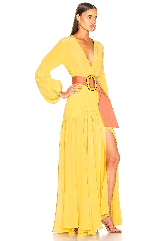 Image 2 of SILVIA TCHERASSI Felicity Dress in Dandelion