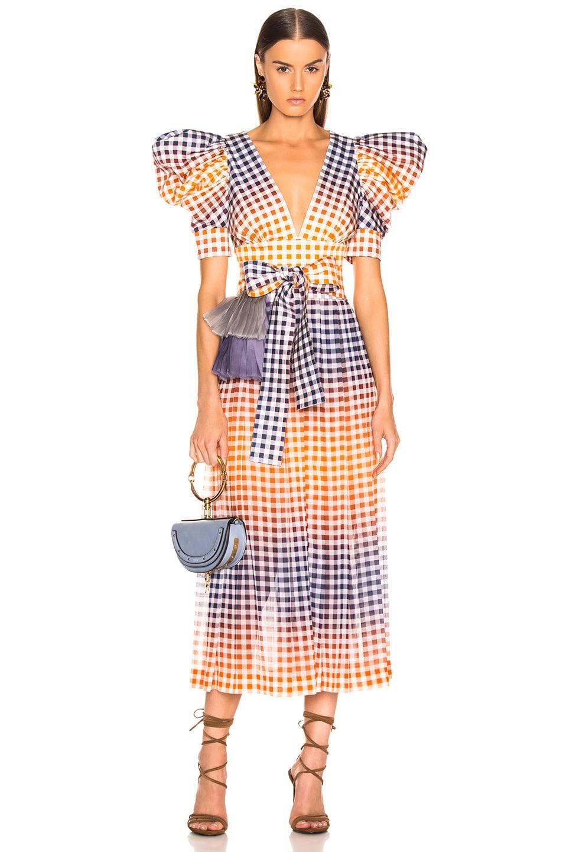 AmberFwrd In Menta Dress Tcherassi Multi Silvia QdxtBsChr