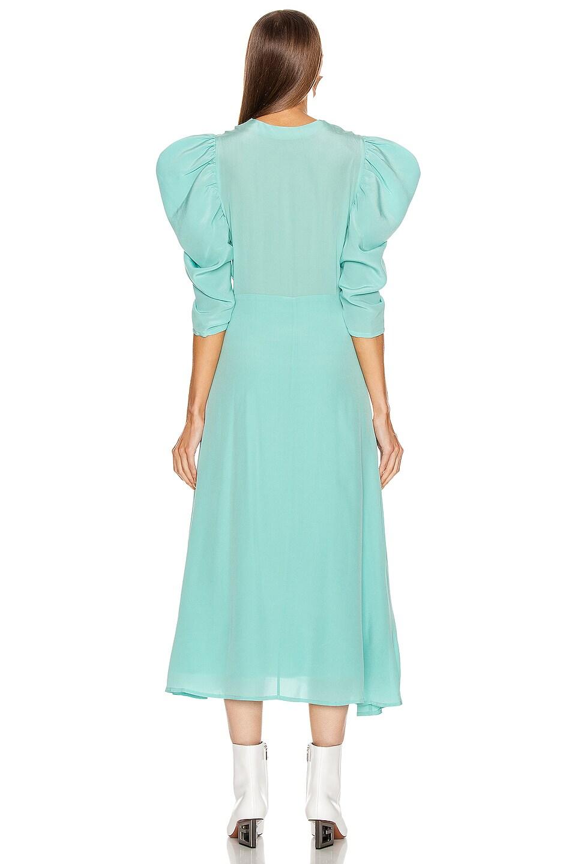 Image 3 of SILVIA TCHERASSI Hel Dress in Aqua