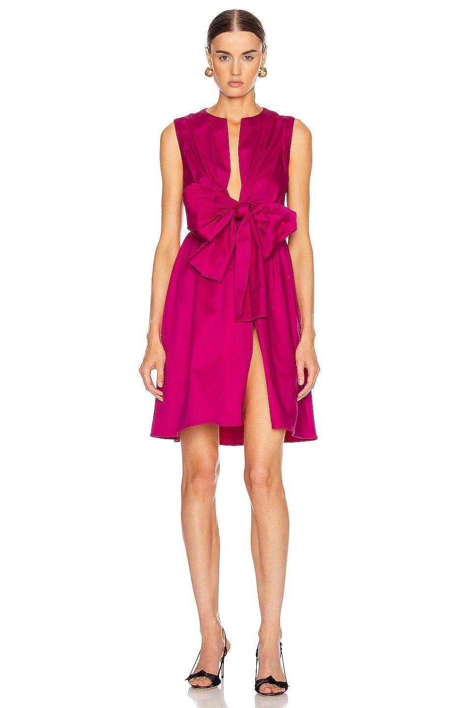 Image 1 of SILVIA TCHERASSI for FWRD Brinda Dress in Fuchsia