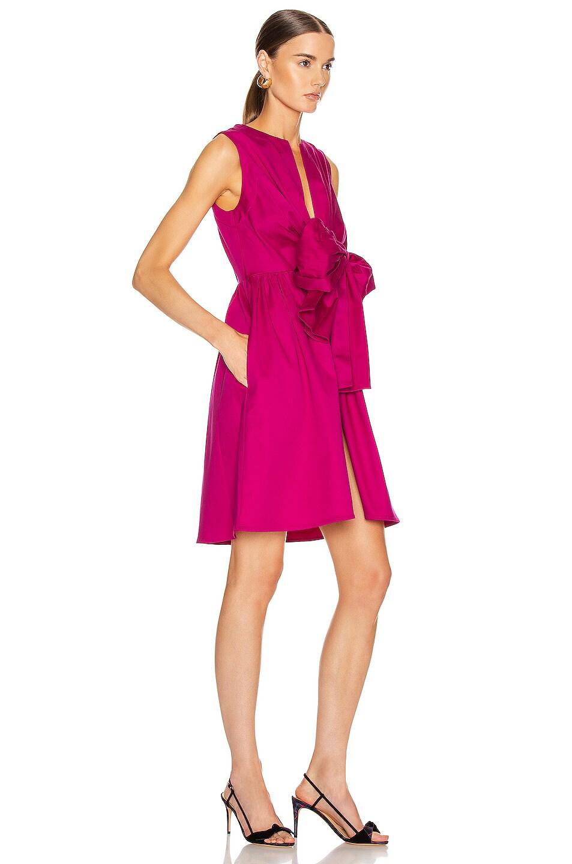 Image 2 of SILVIA TCHERASSI for FWRD Brinda Dress in Fuchsia