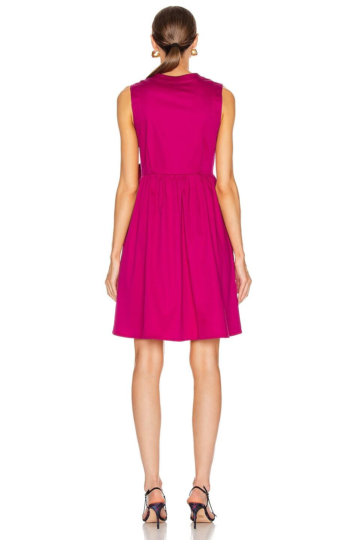 Image 3 of SILVIA TCHERASSI for FWRD Brinda Dress in Fuchsia