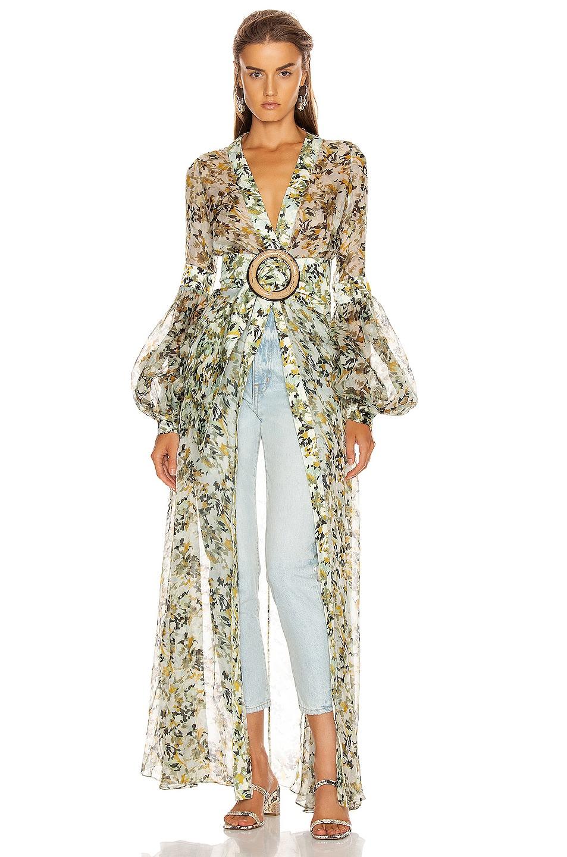 Image 1 of SILVIA TCHERASSI Farolillo Dress in Camouflage