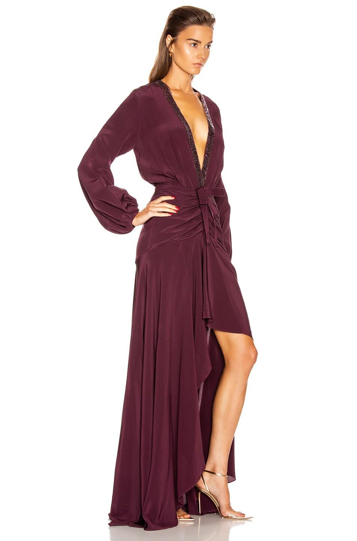 Image 2 of SILVIA TCHERASSI Danitza Dress in Plum