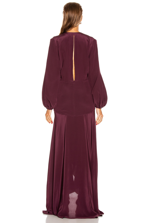 Image 3 of SILVIA TCHERASSI Danitza Dress in Plum