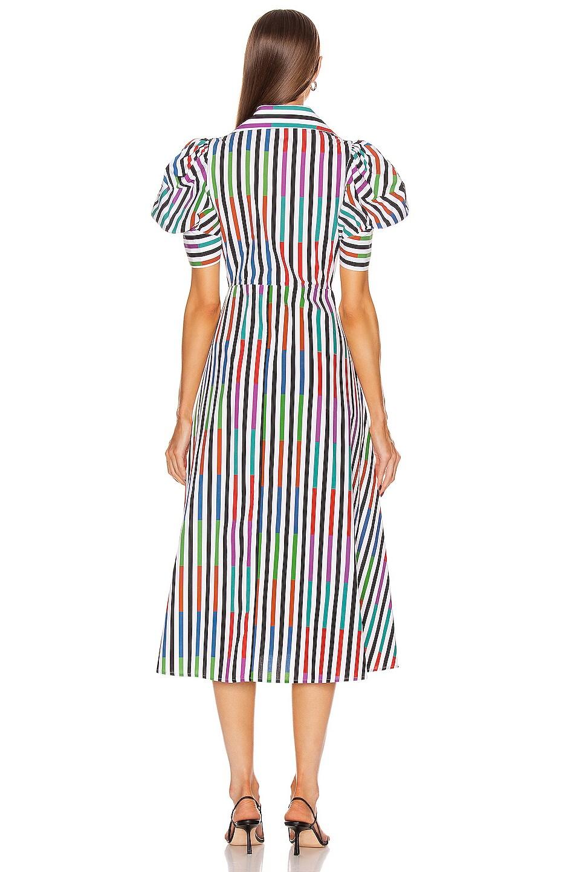 Image 3 of SILVIA TCHERASSI Roopal Dress in Sangria Stripes