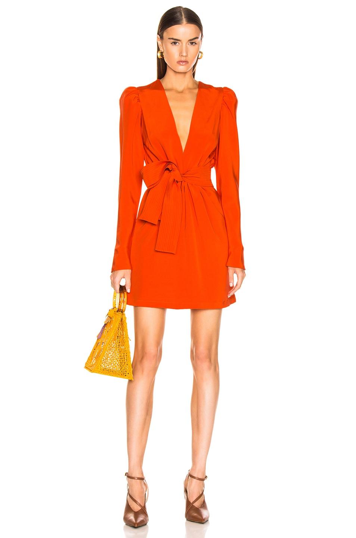 Image 1 of SILVIA TCHERASSI Otavia Dress in Orange